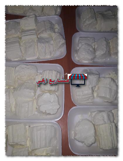 مشروع توزيع منتجات الالبان