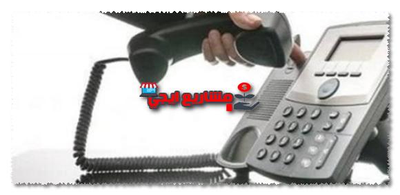 رقم التليفون الارضى