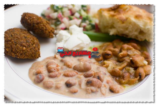 المواد الخام اللازمة لمطعم فول وطعمية في مصر